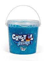 Слайм «Crystal slime», голубой, 1 кг