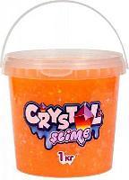 Слайм «Crystal slime», апельсиновый, 1 кг