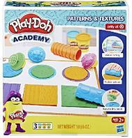 Набор игровой Play-Doh Масса для лепки Текстуры и инструменты