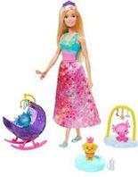 """Barbie® Игровой набор """"Заботливая принцесса"""""""