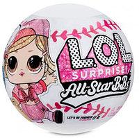 Игровой набор L.O.L. Surprise All-Star B.B.S Sports Бейсболисты Команда Heart Breakers