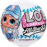 Игровой набор L.O.L. Surprise All-Star B.B.S Sports Бейсболисты Команда Lucky Stars