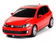 Машина на радиоуправлении 1:24 Volkswagen Golf GTI, цвет красный