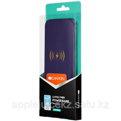 CANYON EOL Power bank with wireless charger function,