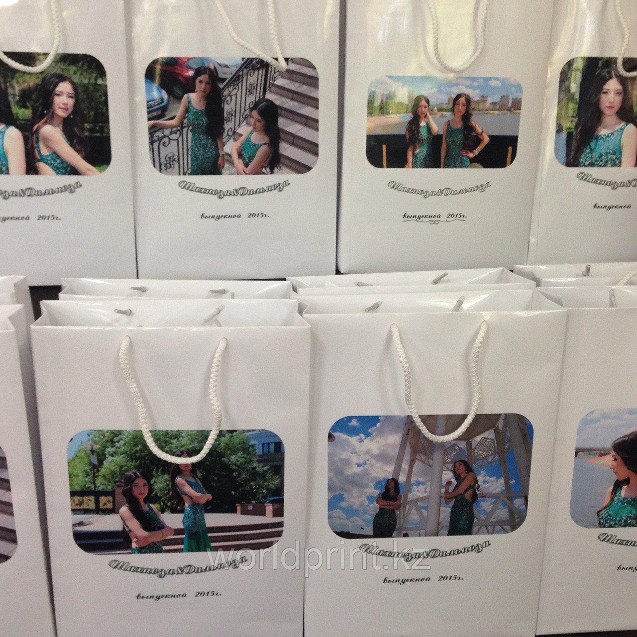 Пакеты с фото, подарочные пакеты