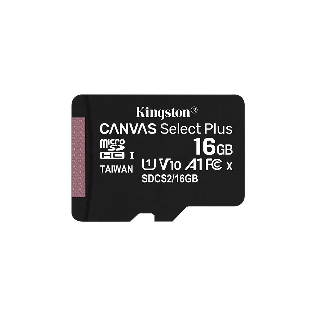 Карта памяти Kingston SDCS2/16GBSP (16GB)