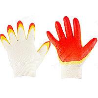 Перчатки с двойным латексным покрытием трикотажные 24-2-005