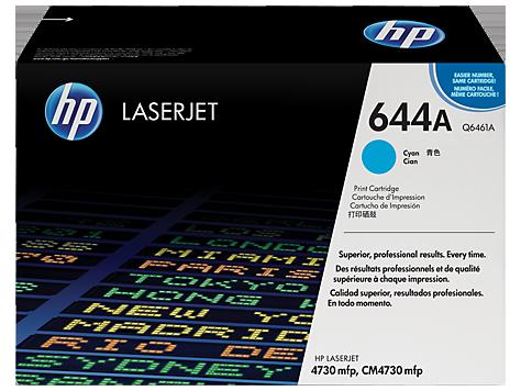 HP Q6461A Картридж лазерный HP 644A голубой, ресурс 12000 стр