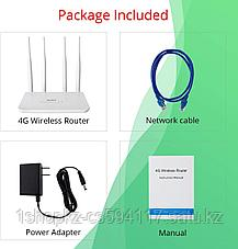 Беспроводной роутер Wi-Fi 4G LTE CPE с слотом для sim-карты 4GPRo YPD09G, фото 3