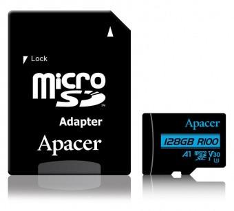 Карта памяти MicroSD Apacer AP128GMCSX10U7-R (128GB)
