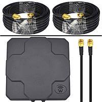 4G LTE антенна Sota MIMO DP9. Универсальная уличная панельная антенна