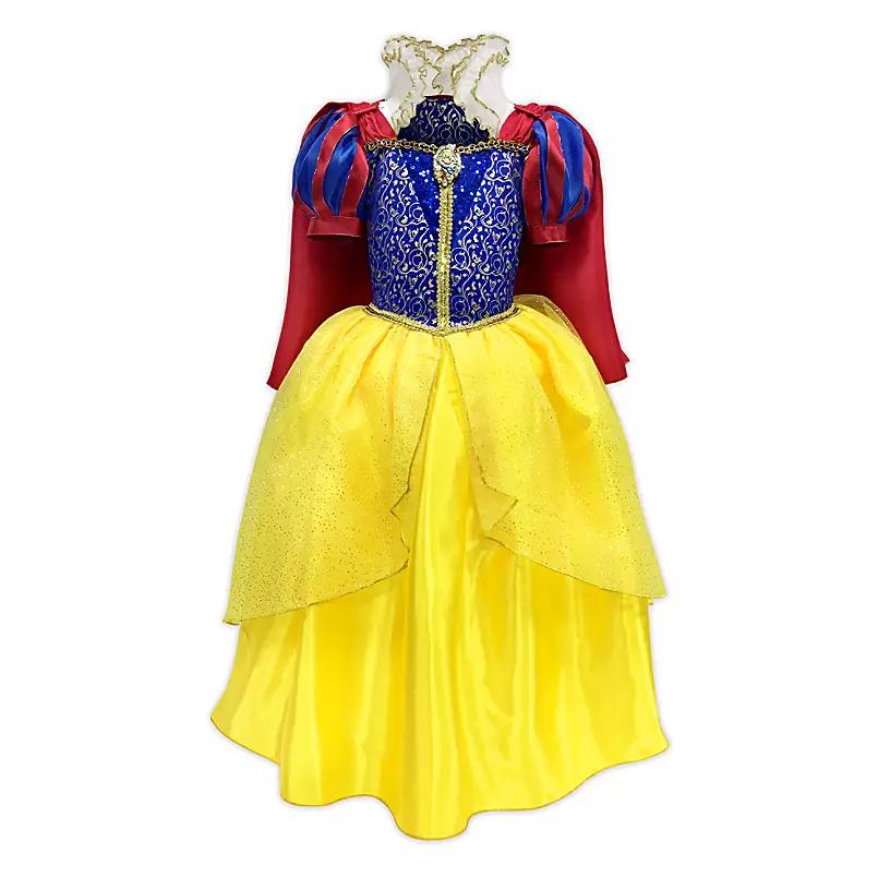 Новогоднее платье принцессы Белоснежки - фото 1