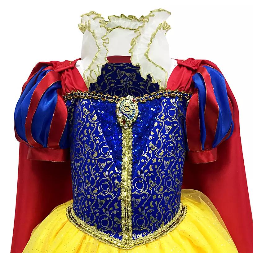 Новогоднее платье принцессы Белоснежки - фото 3