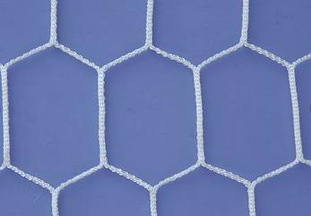 Сетка минифутбол шестигранник 3х2х1м (т4мм) Китай