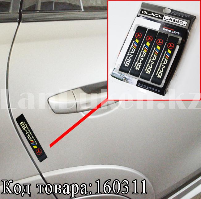 Накладки защитные на двери машины Fouring Black Label AMG - фото 1