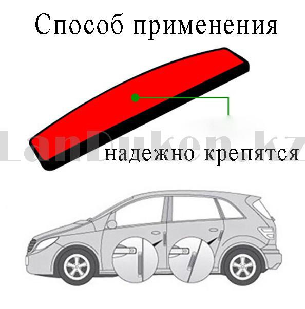 Накладки защитные на двери машины Fouring Black Label AMG - фото 9