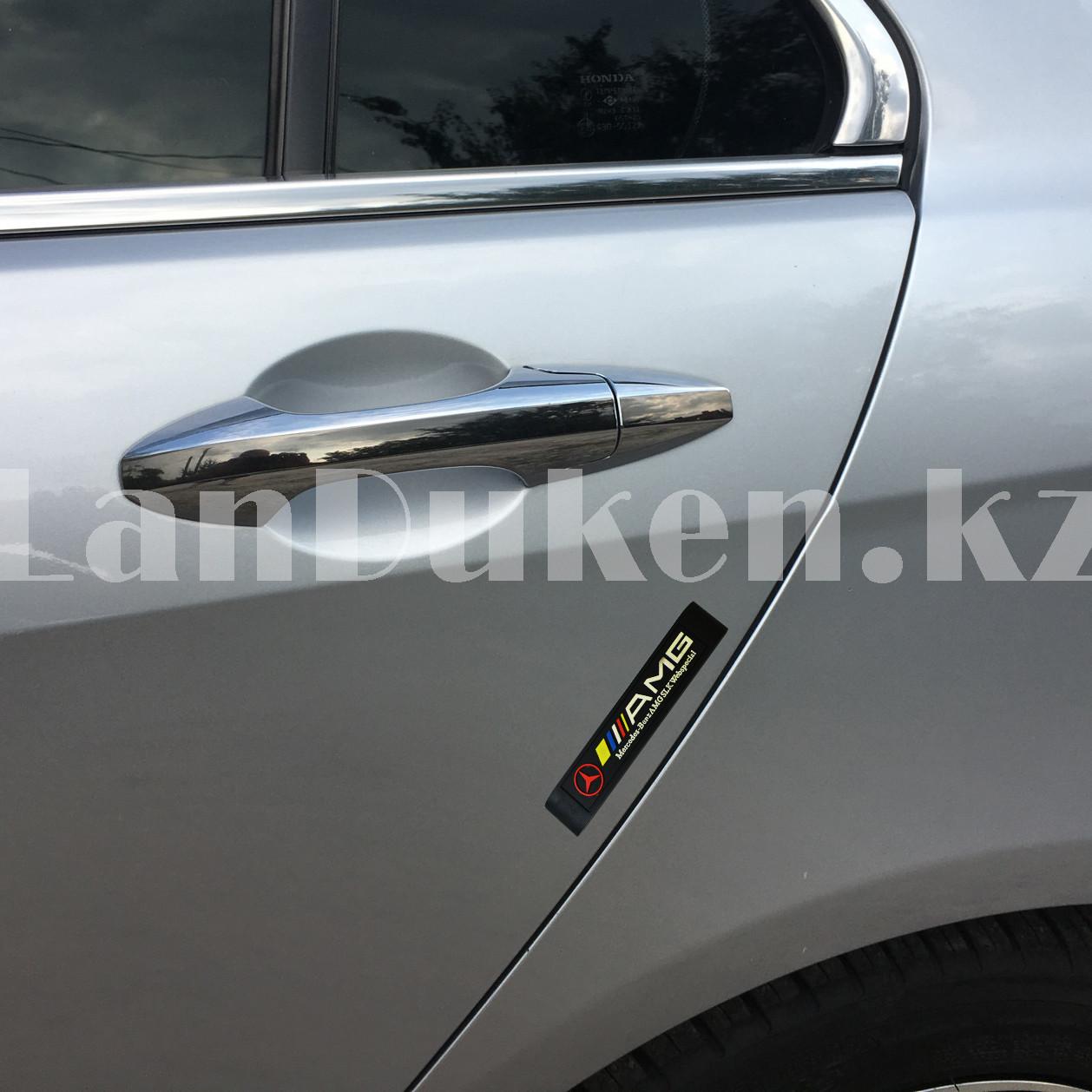 Накладки защитные на двери машины Fouring Black Label AMG - фото 2