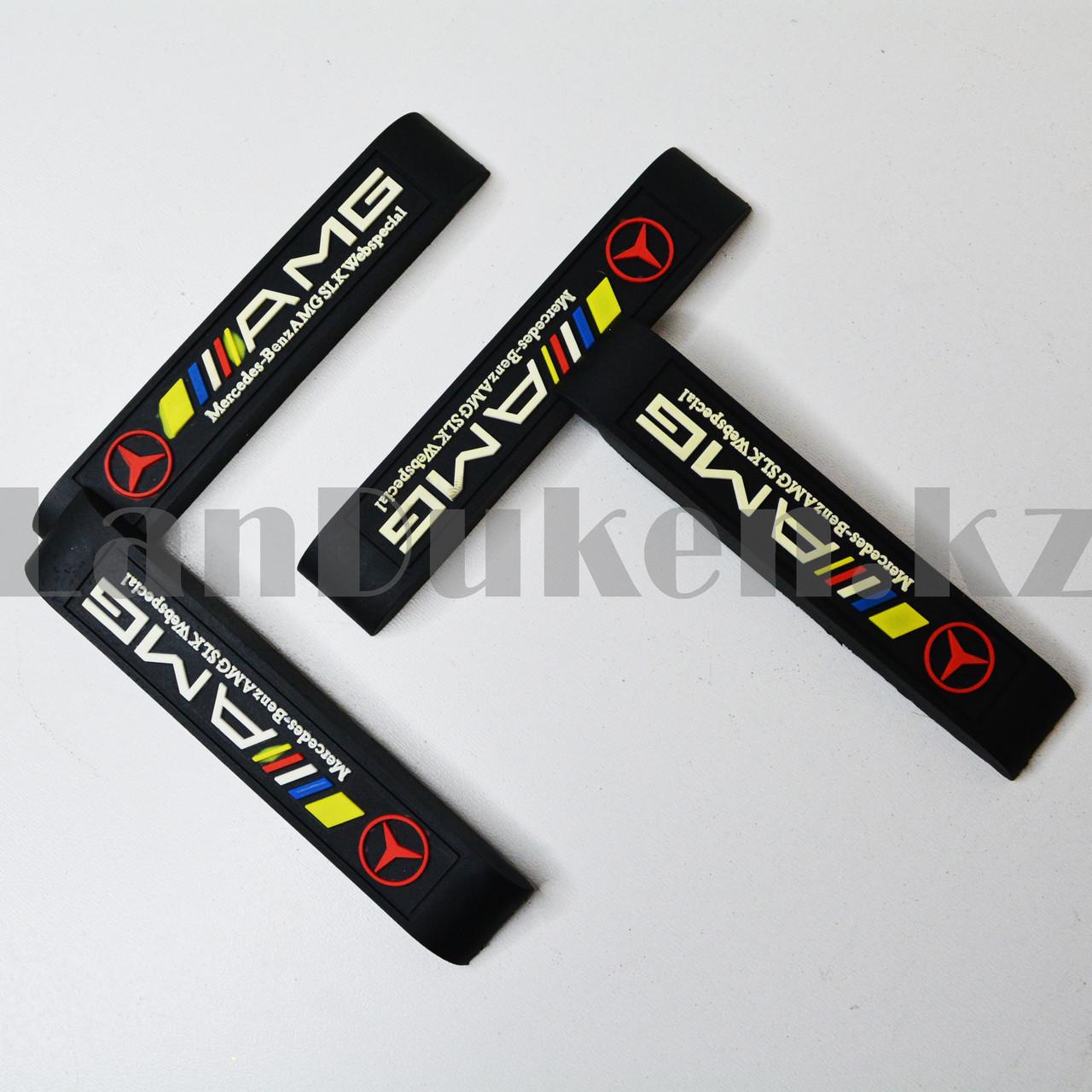 Накладки защитные на двери машины Fouring Black Label AMG - фото 5