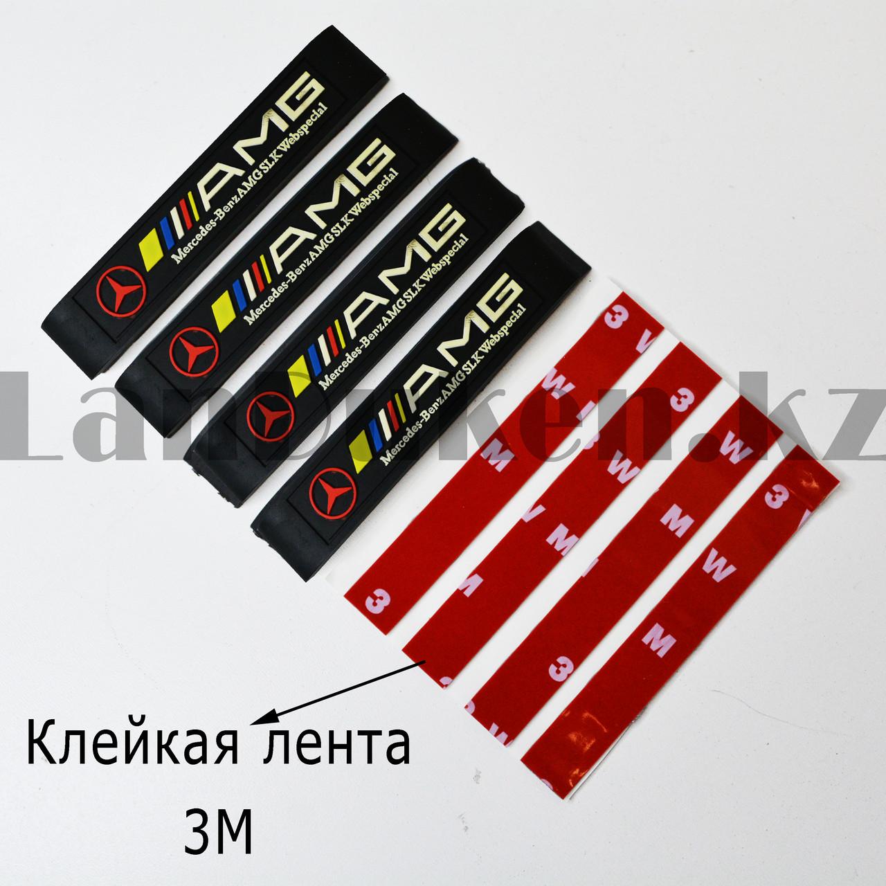 Накладки защитные на двери машины Fouring Black Label AMG - фото 7
