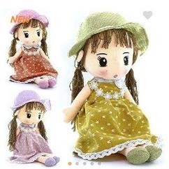 """Кукла """"платье зайки"""" 70 см"""