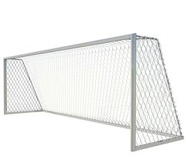 Ворота для футбола стационарные 7,32х2,44 Алюминий