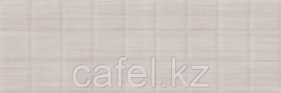 Кафель | Плитка настенная 20х60 Лин | Lin темно-бежевый рельеф