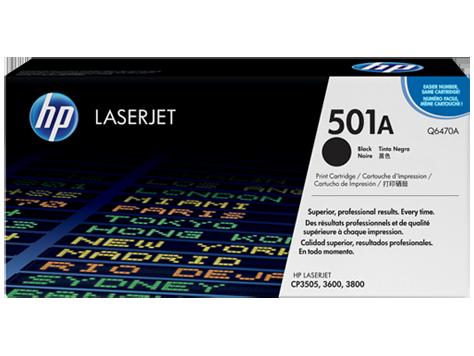 HP Q6470A Картридж лазерный HP 501A черный, ресурс 6000 стр
