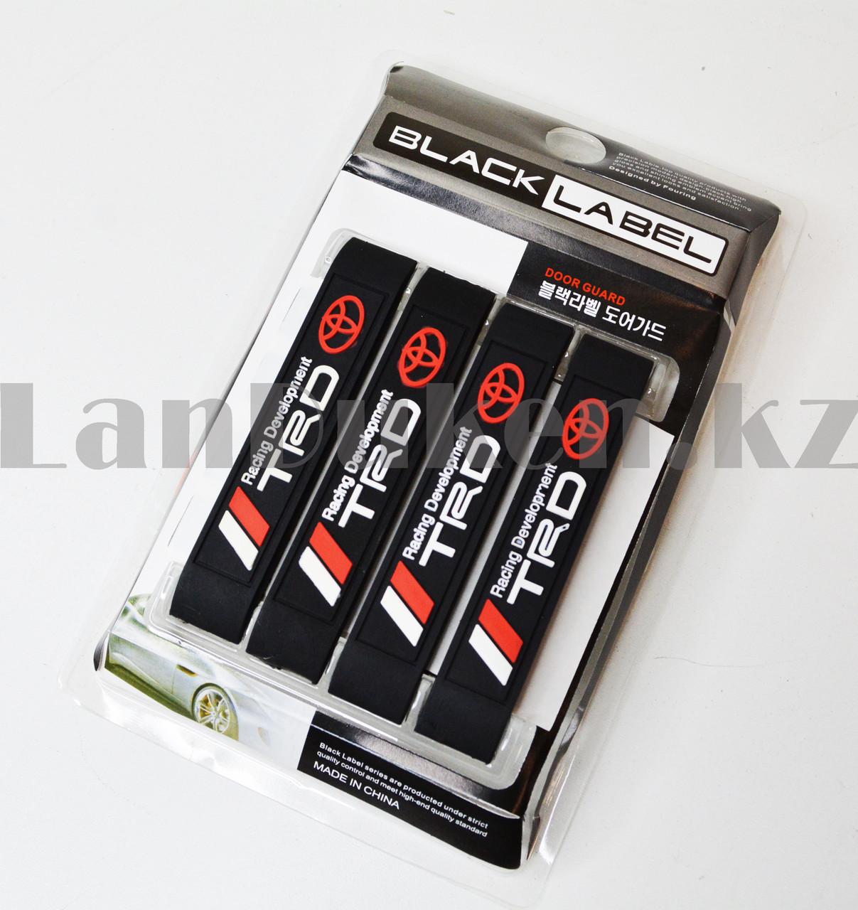 Накладки защитные на двери машины Fouring Black Label TOYOTA - фото 8