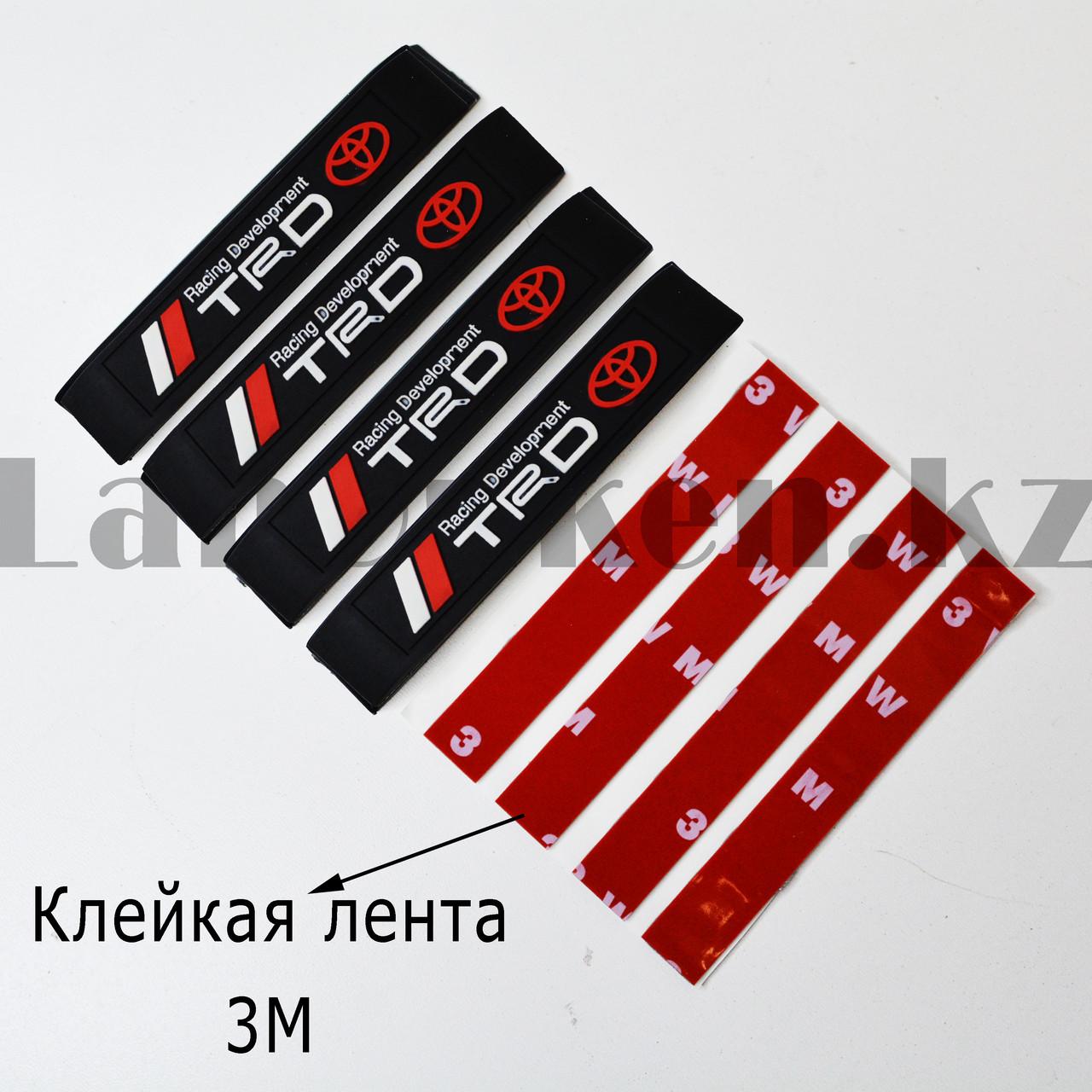 Накладки защитные на двери машины Fouring Black Label TOYOTA - фото 5