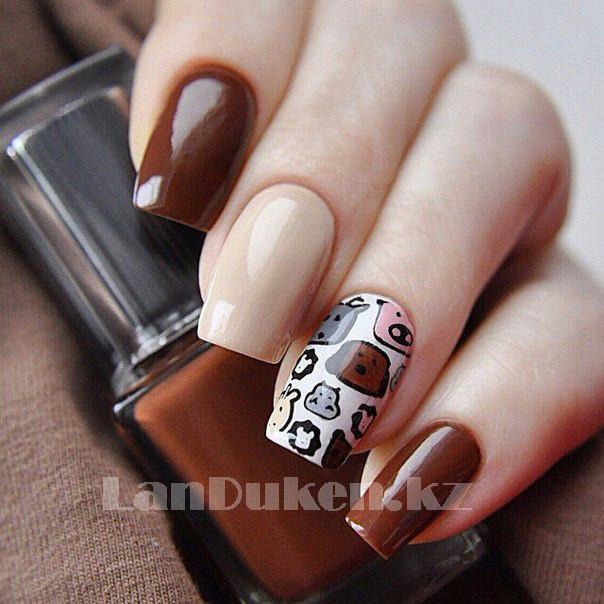 Стемпинг для ногтей, пластины для дизайна ногтей QQ-15 - фото 2