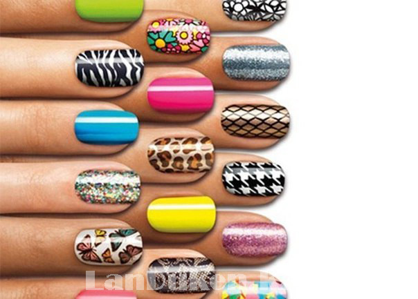 Стемпинг для ногтей, пластины для дизайна ногтей QQ-15 - фото 4