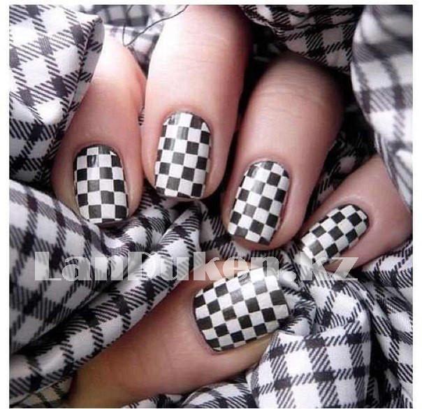 Стемпинг для ногтей, пластины для дизайна ногтей QQ-15 - фото 3