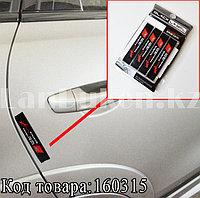 Накладки защитные на двери машины Fouring Black Label AUDI
