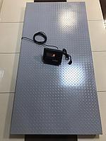 Весы для взвешивания животных(КРС,МРС) до 2 тонн, платформа 2*1 метр, без ограждений