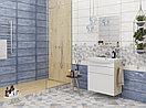 Кафель | Плитка настенная 20х60 Майолика | Majolika голубой, фото 2
