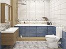 Кафель | Плитка настенная 20х60 Майолика | Majolika коричневый, фото 5