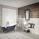 Кафель | Плитка настенная 20х60 Майолика | Majolika коричневый, фото 2