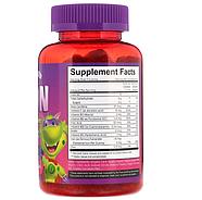 Vitamin Friends, Веганские жевательные конфеты с железом, ароматизатор со вкусом клубники, 60 жевательных конф, фото 2