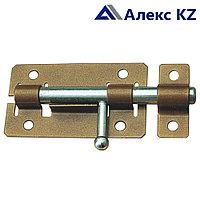 Задвижка дверная ЗД-01 полимер бронза