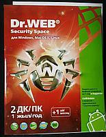 Антивирус Dr.WEB Security Space 2 ПК
