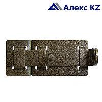 Задвижка дверная ЗД-04 полимер бронза
