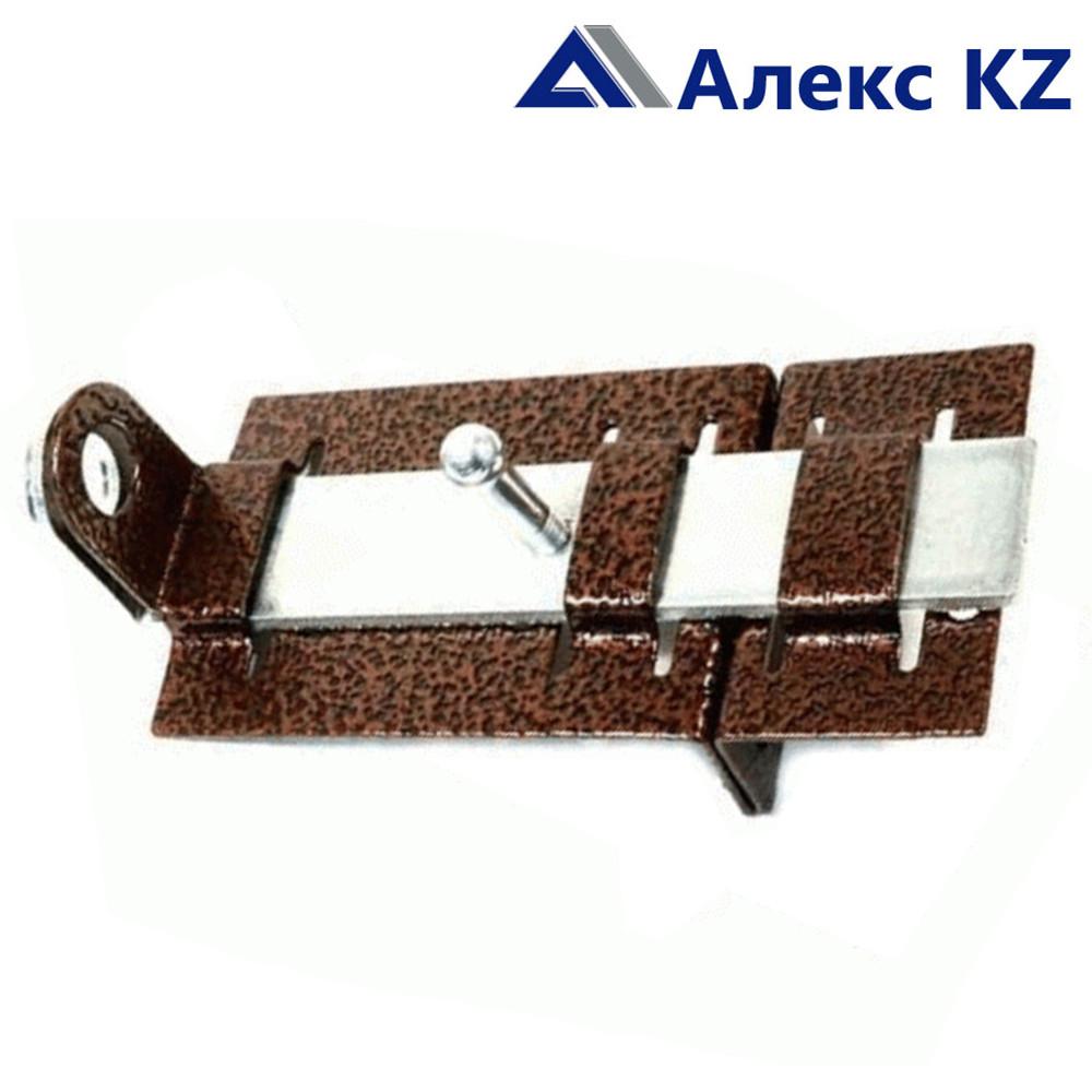 Задвижка дверная ЗД-04 полимер медь