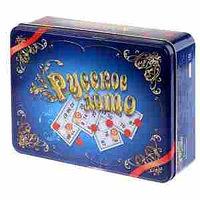"""Игра настольная Лото, Десятое королевство, """"Русское лото"""", жестяная коробка"""