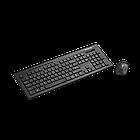 Набор клавиатура+мышь с защитой от отпечатков пальцев Canon SET-W4 CNS-HSETW4-RU (Black)