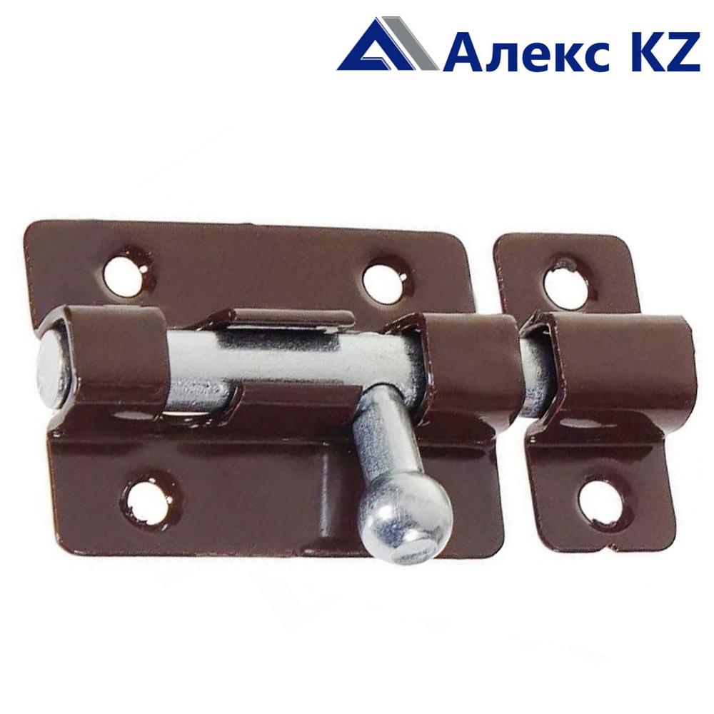 Задвижка накладная ЗТ-4 полимер коричневый