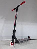 Недорогой трюковый самокат Scooter. Тэшка. Прямой руль. Kaspi RED. Рассрочка.