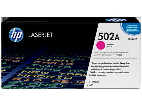 HP Q6473A Картридж лазерный HP 502A пурпурный, ресурс 4000 стр