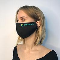 Многоразовые маски с логотипом компании