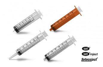 """Шприц """"inject"""" 50 мл с игл 21Gх1 1/2"""" инъекц. 3х-комп. стерильный"""