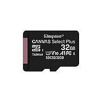 Карта памяти, Kingston, SDCS2/32GBSP, MicroSDHC 32GB, Canvas Select Plus, Class 10, без адаптера